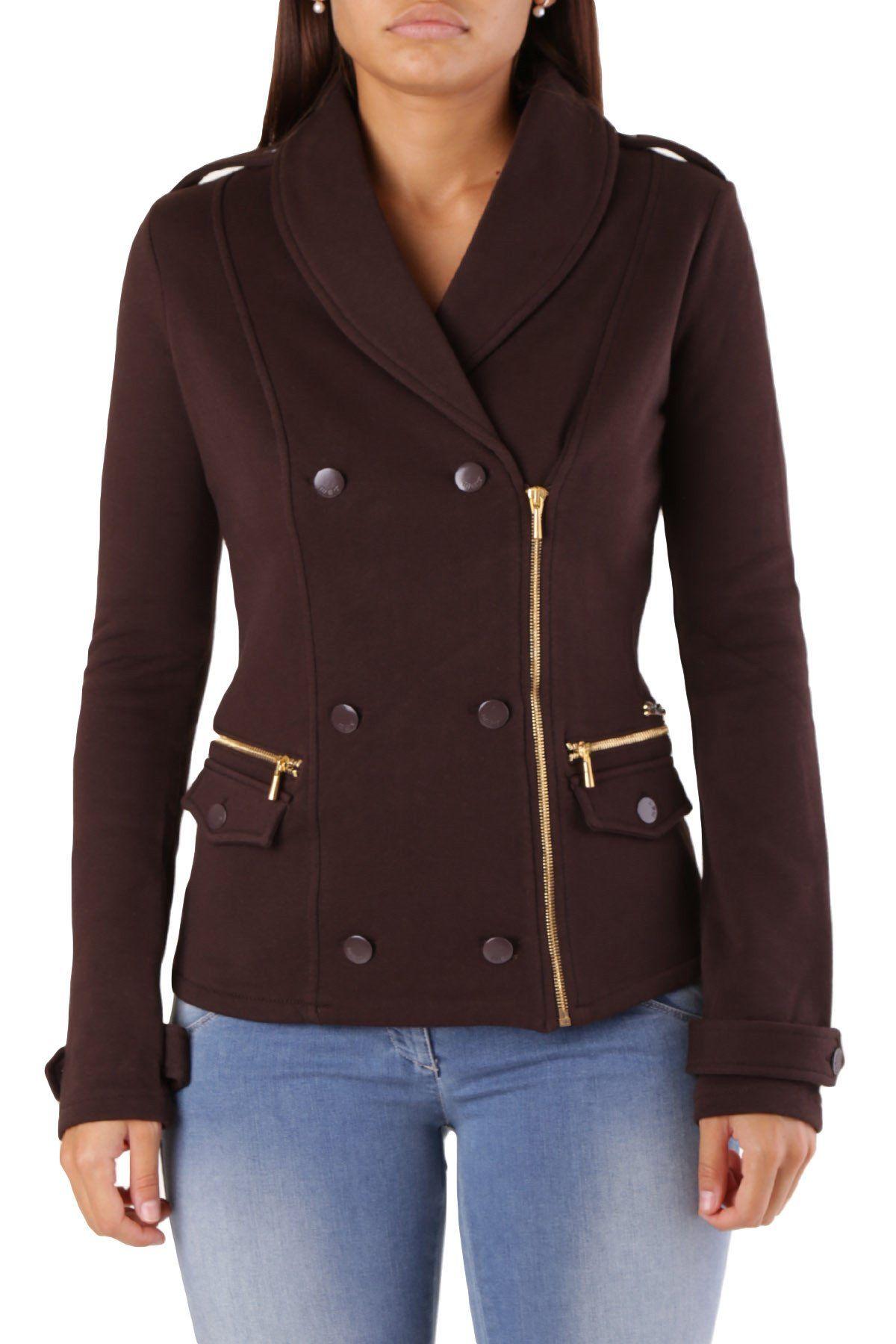 Met Women's Blazer In Brown