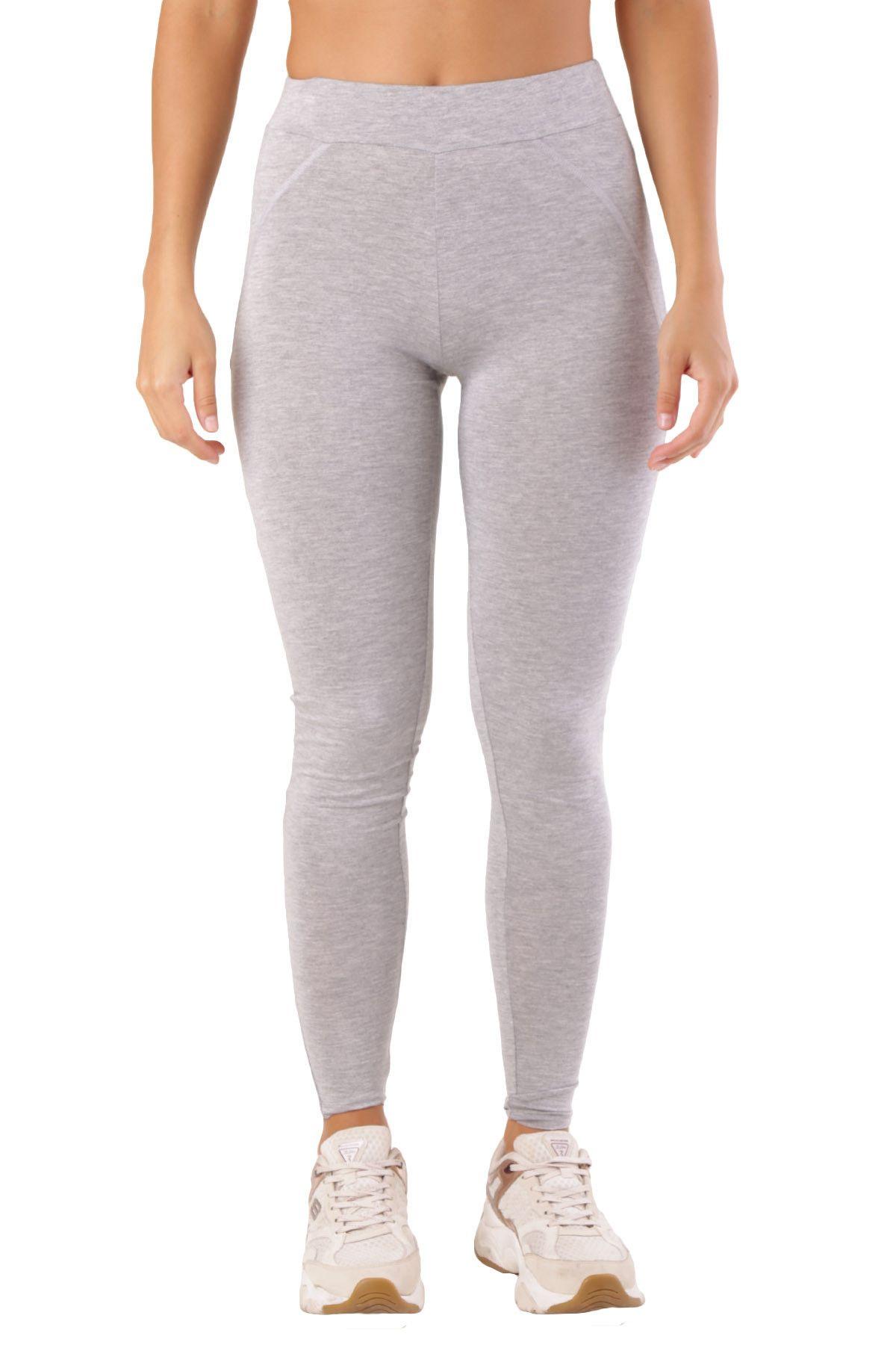 Met Women's Leggings In Grey