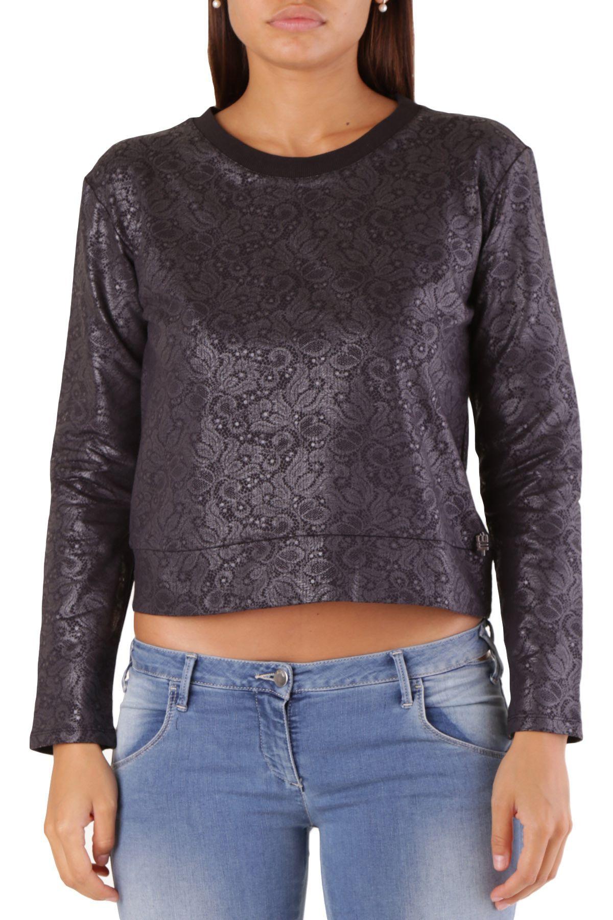 Met Women's Sweatshirt In Black