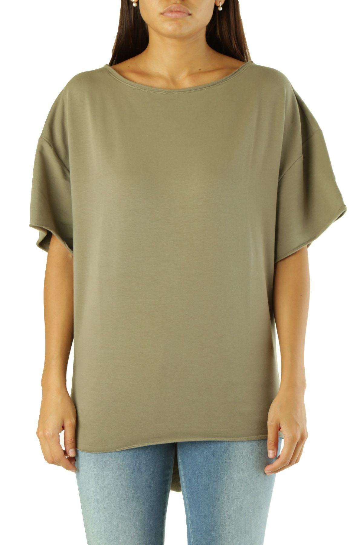 Met Women's T-Shirt In Green