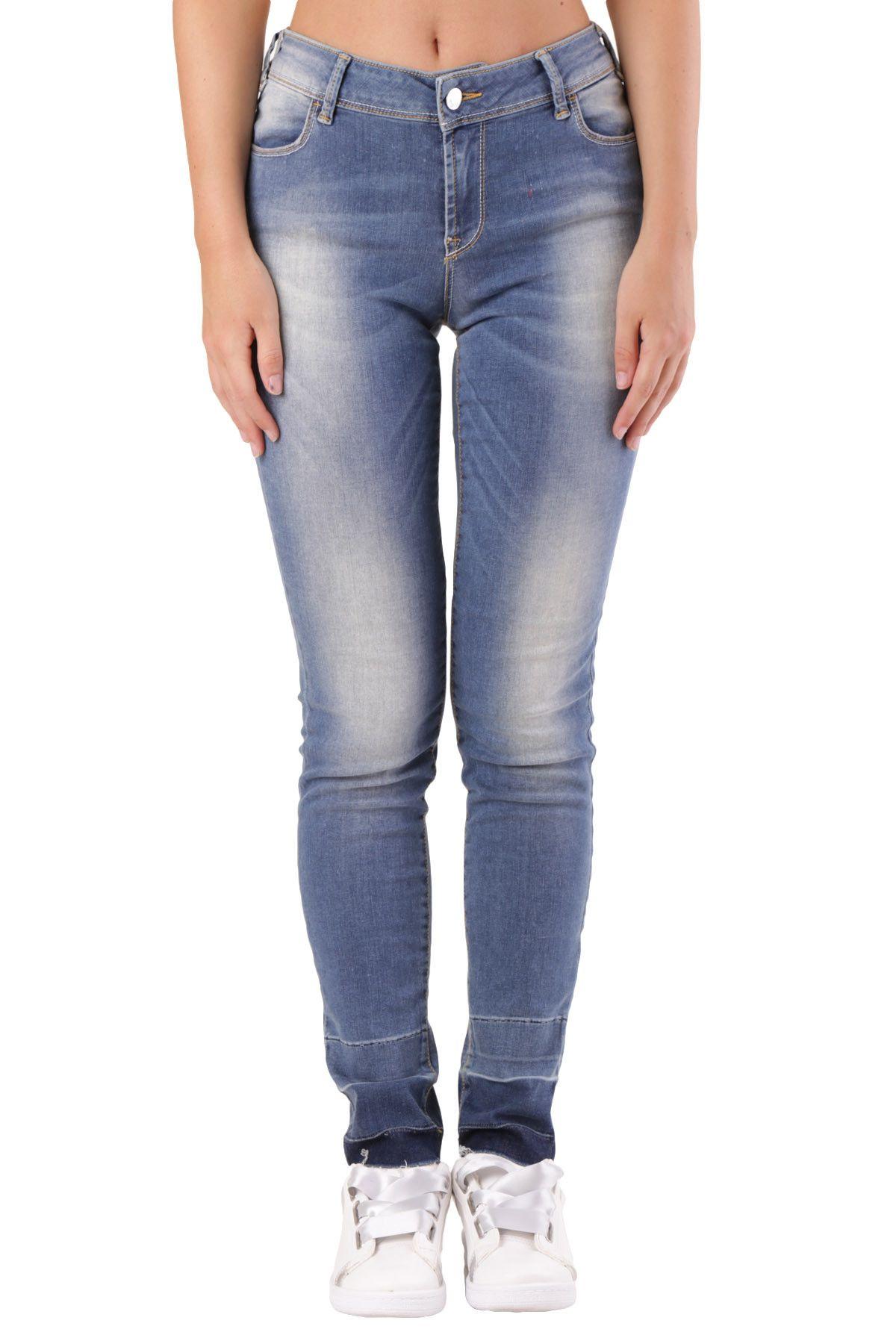 Met Women's Jeans In Blue