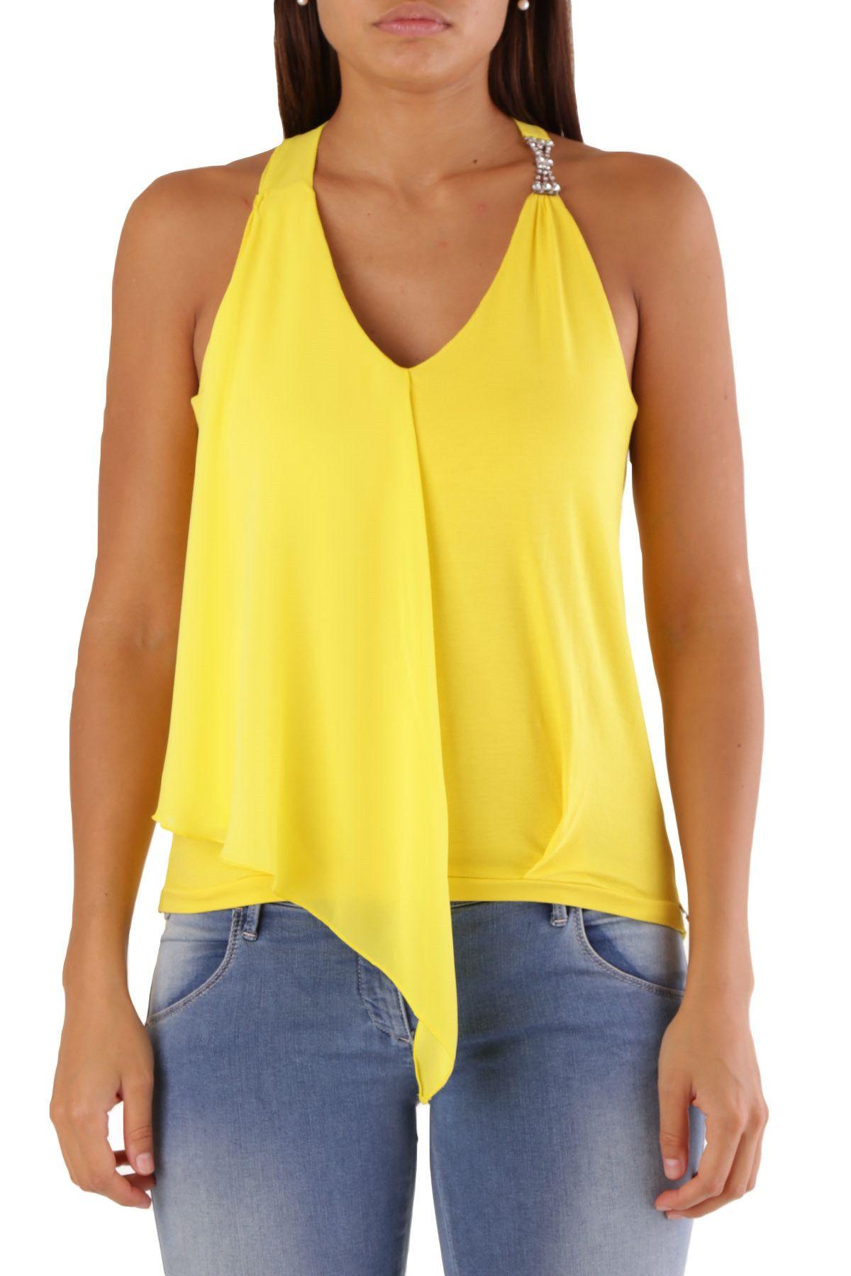 Met Women's Blouse In Yellow