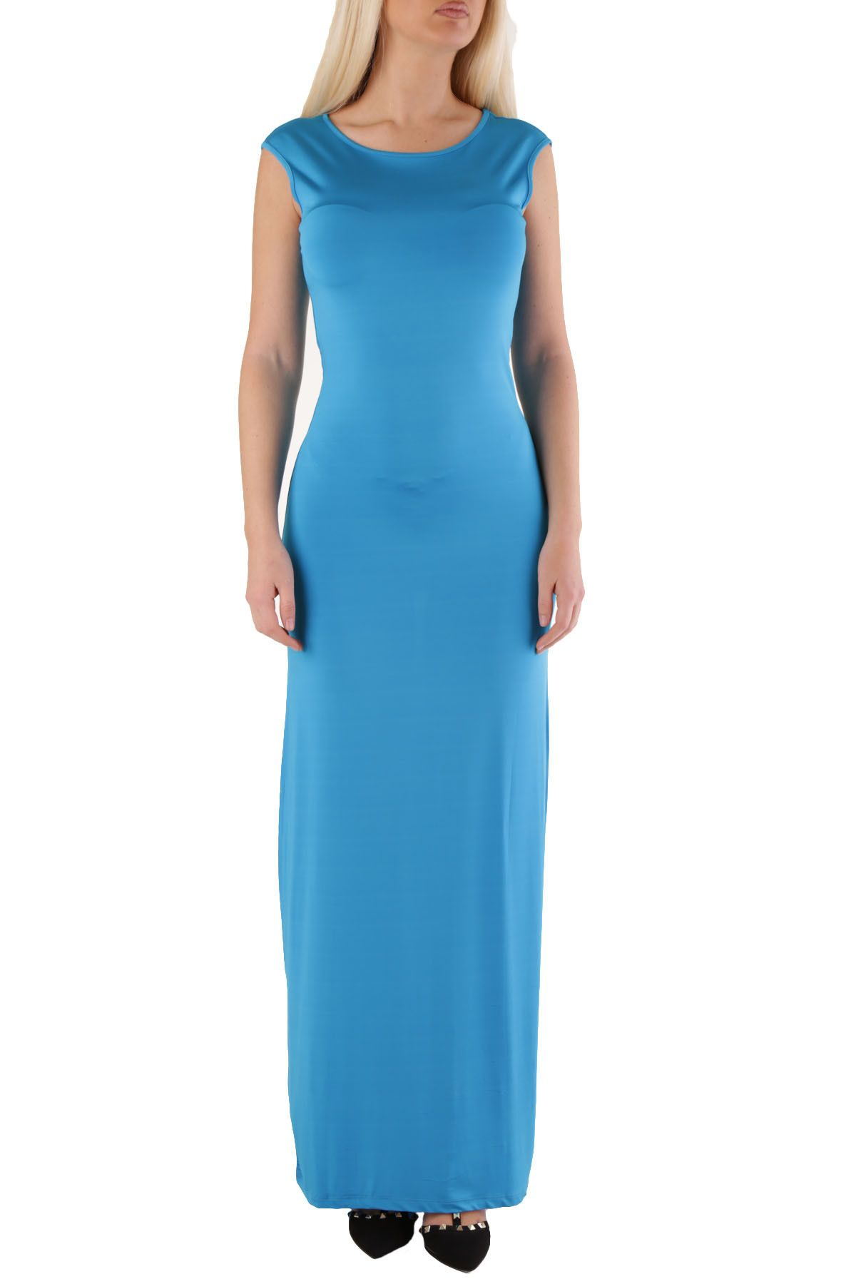 Met Women's Dress In Blue