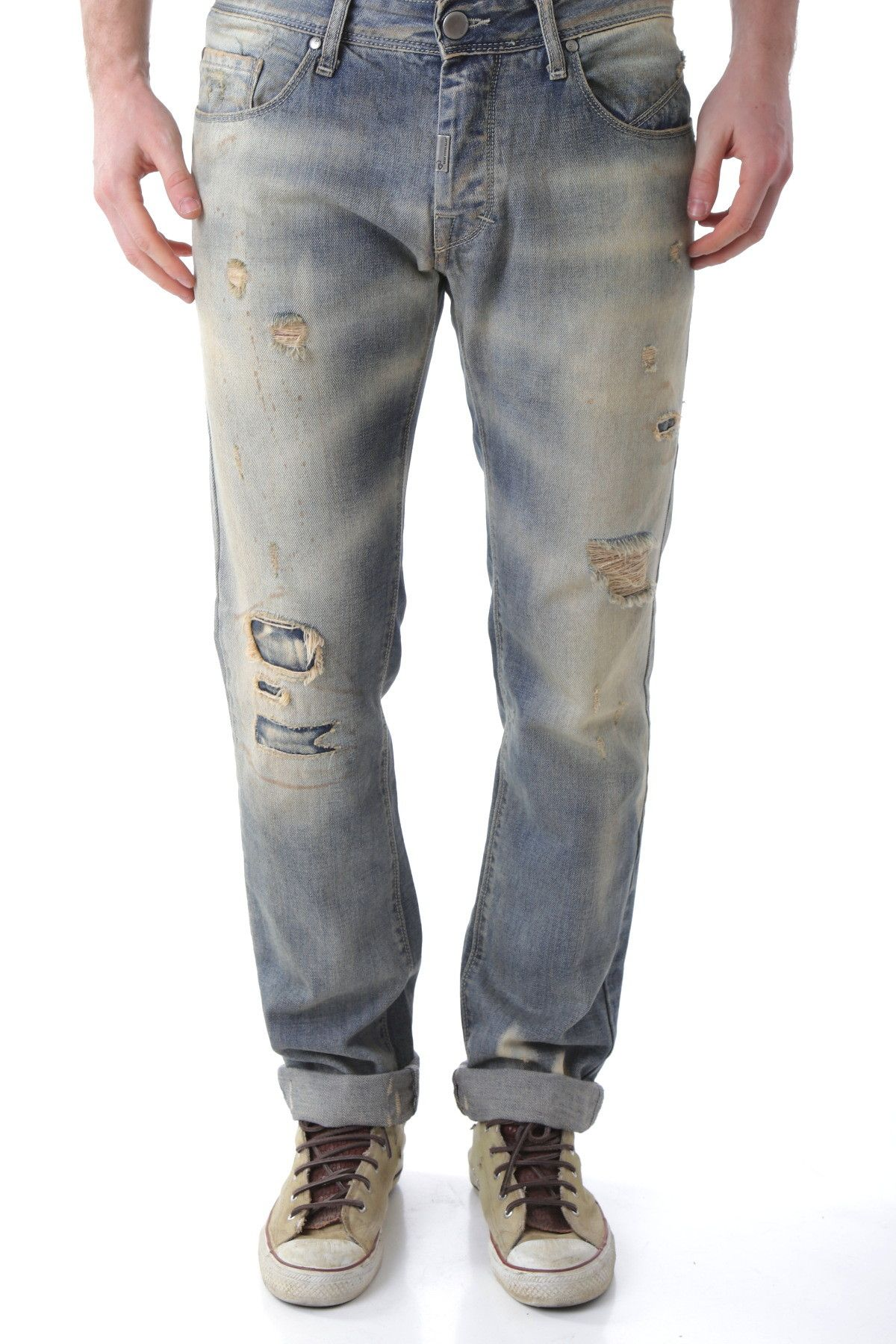 Bray Steve Alan Men's Jeans In Blue