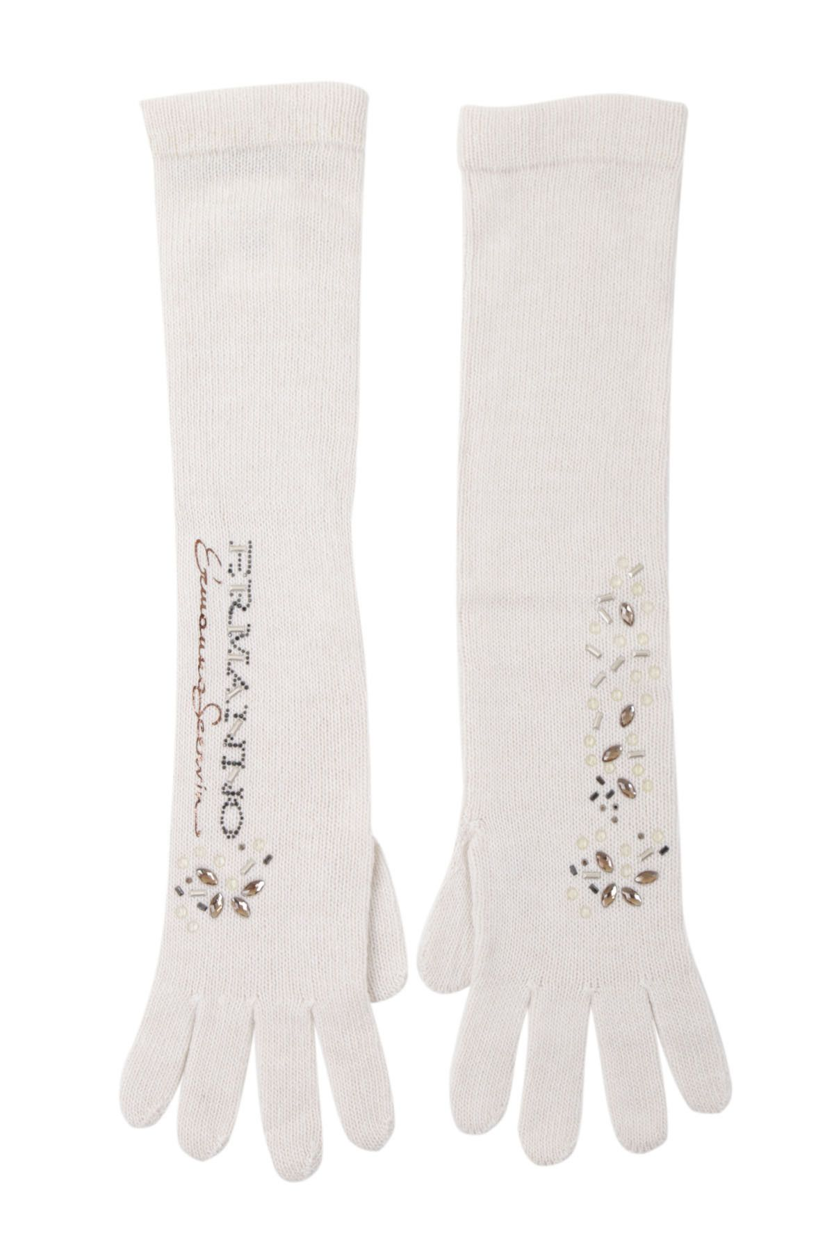 Ermanno Scervino Women's Gloves In White