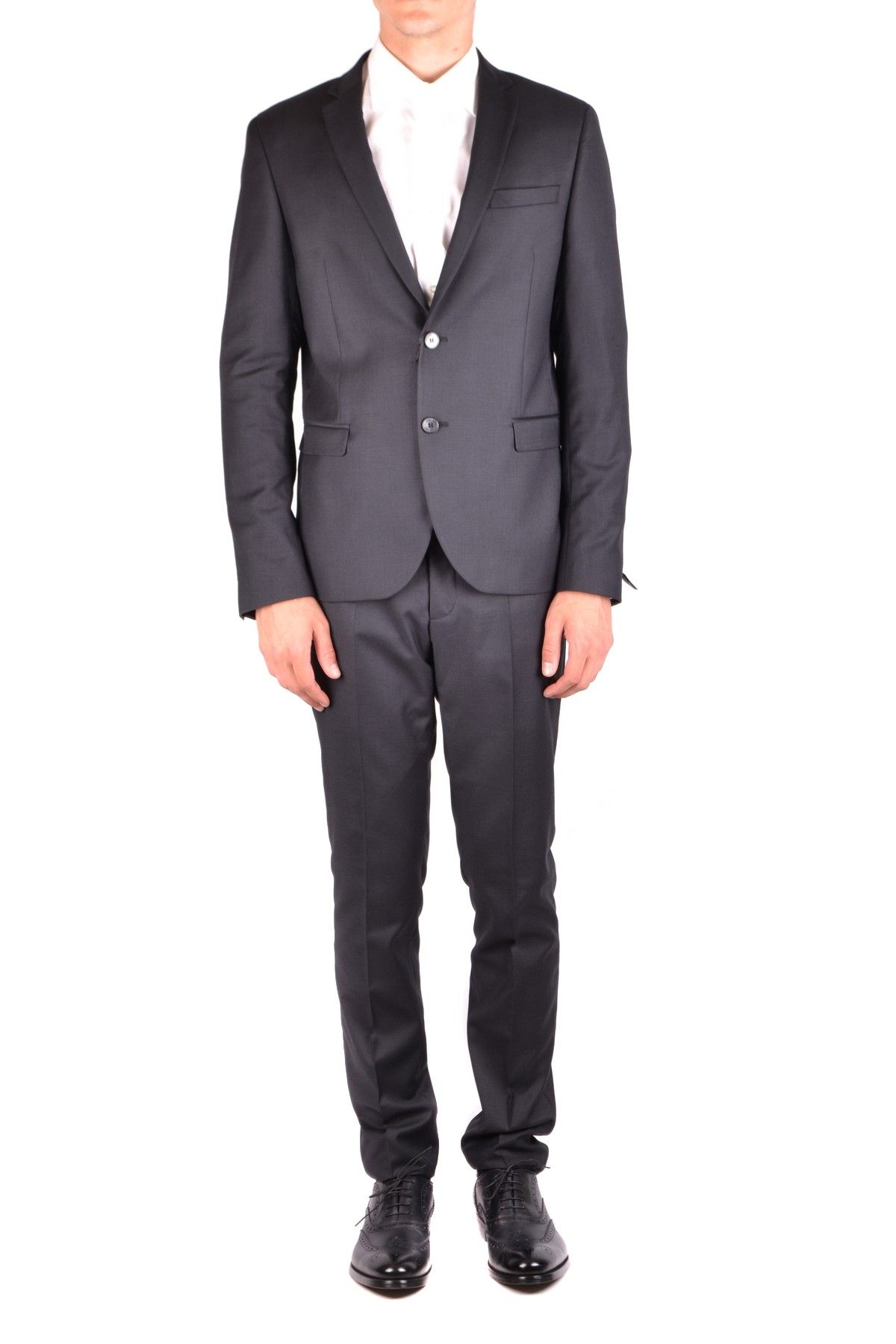 Manuel Ritz Men's Suit In Black