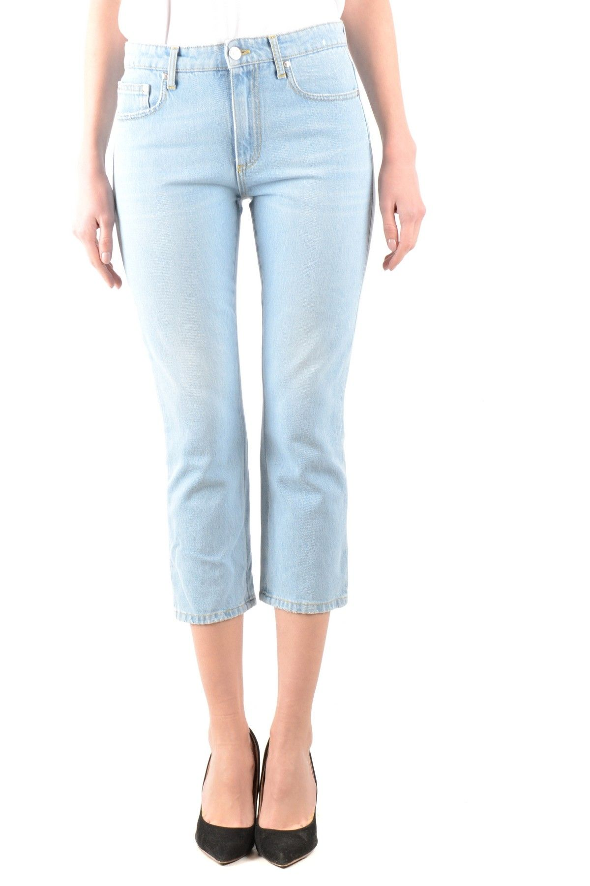 Msgm Women's Jeans In Blue
