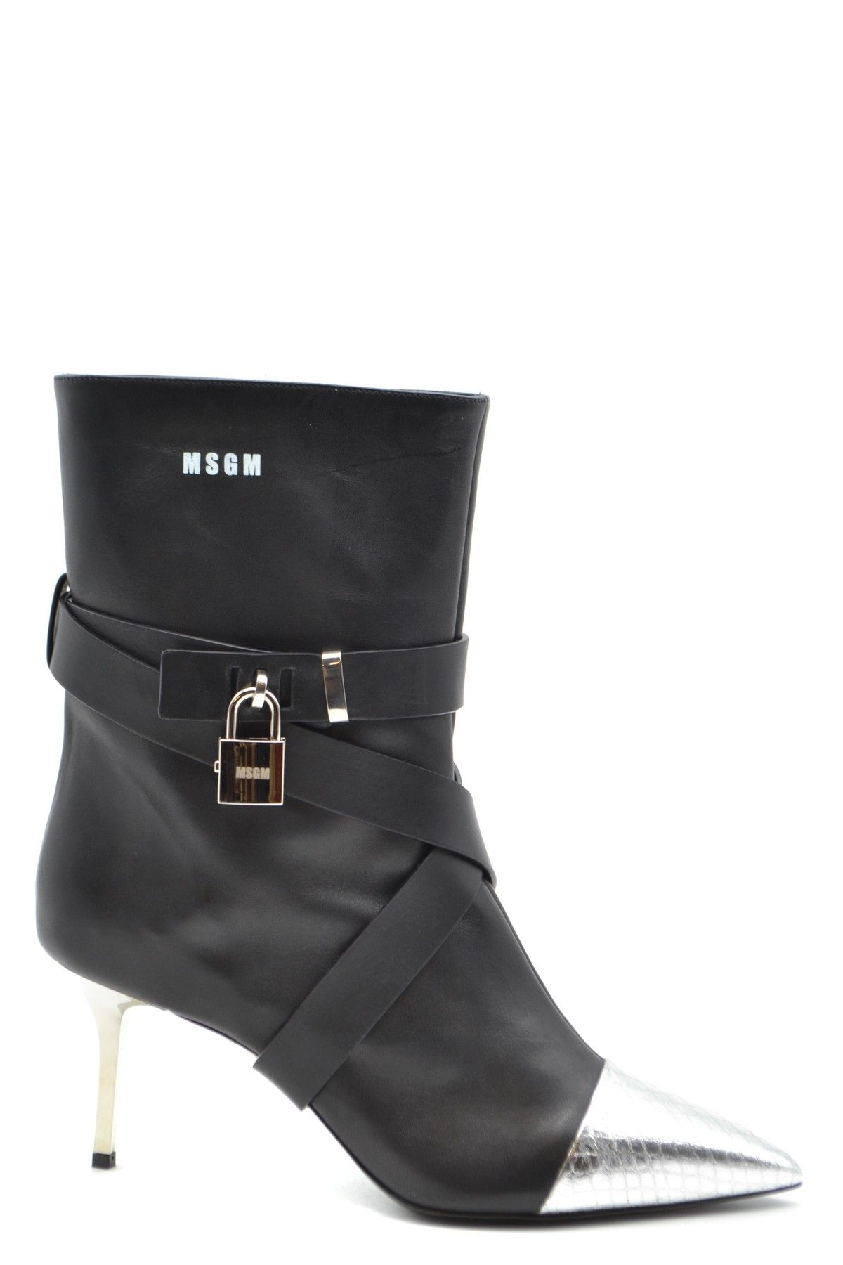 Msgm Women's Boots In Black