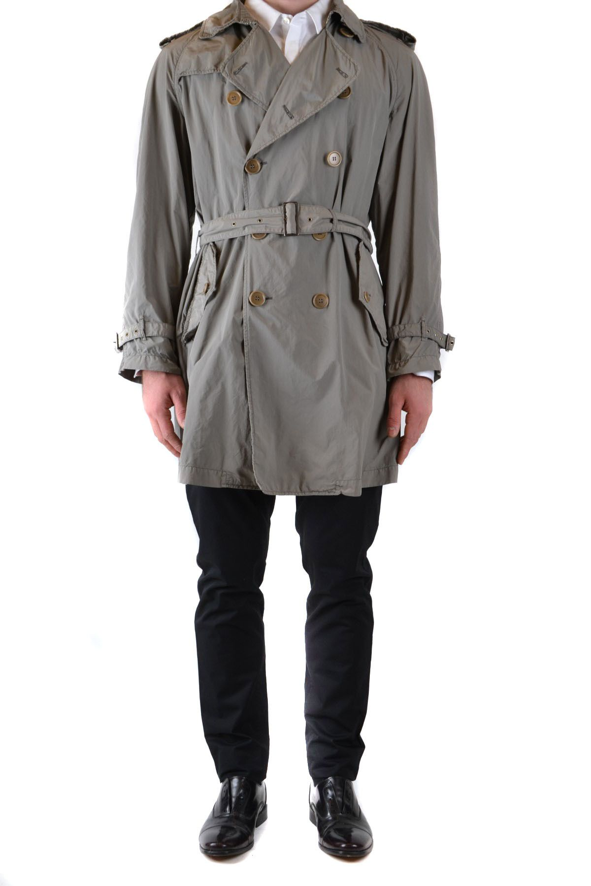 Aspesi Men's Coat In Grey