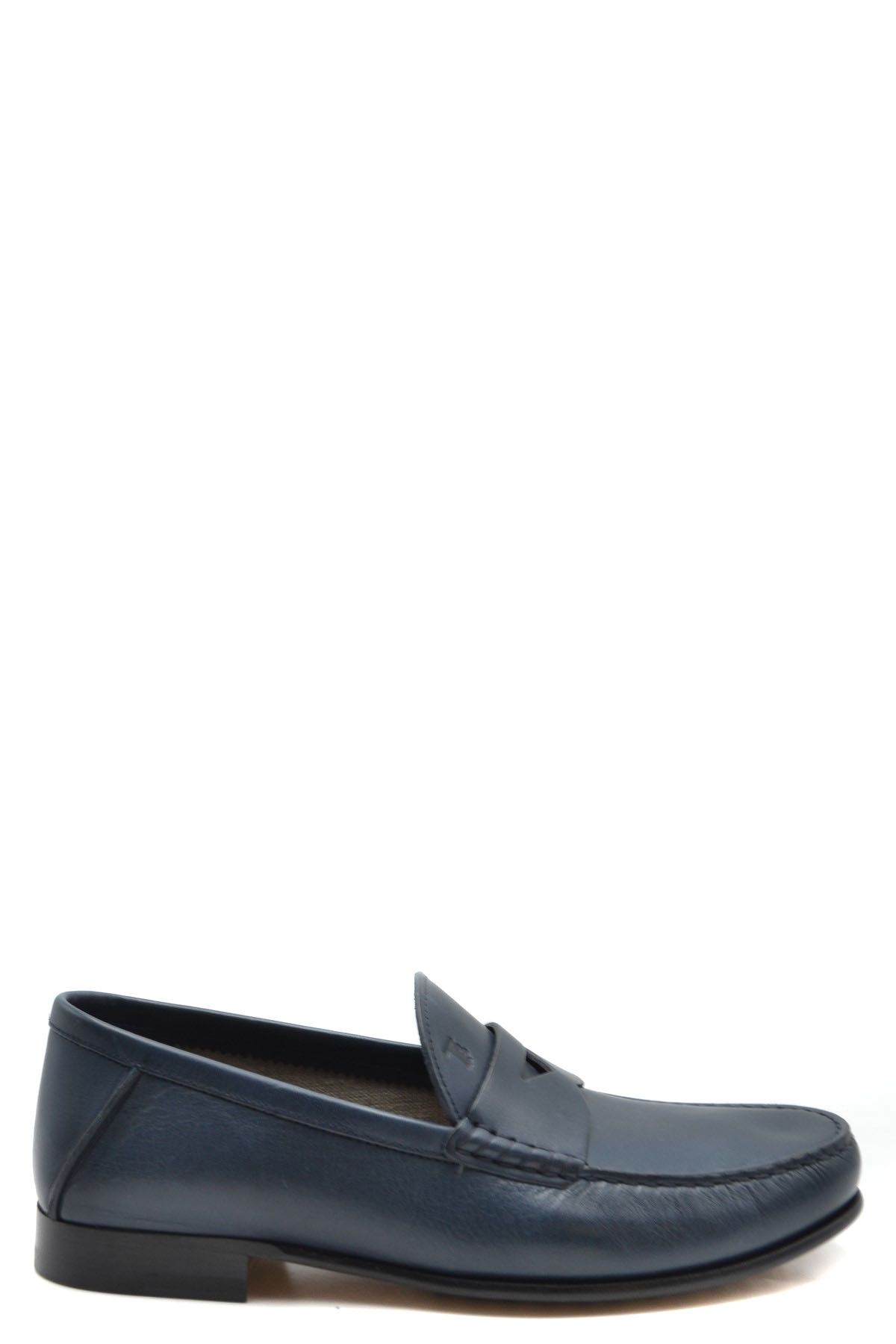 Tod`S Men's Moccassin In Blue