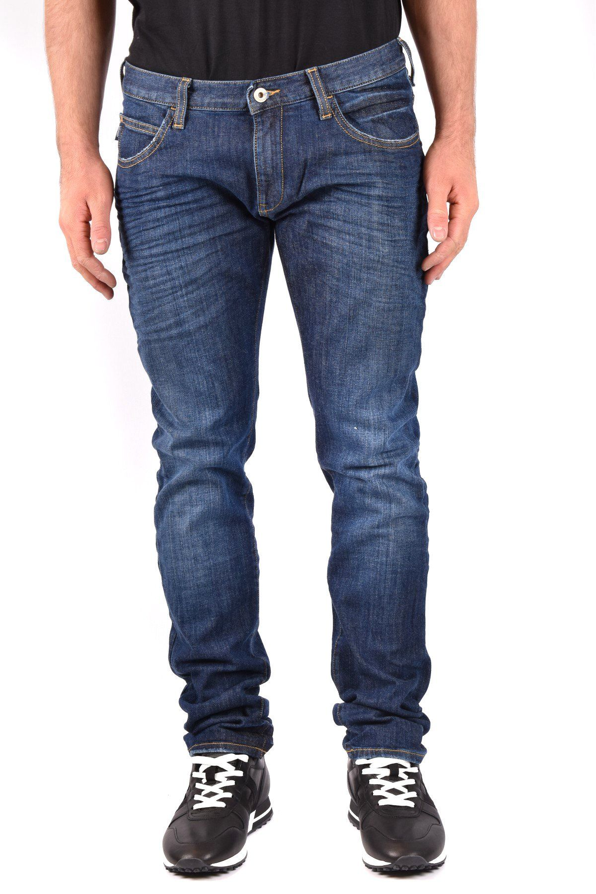 Armani Jeans Men's Jeans In Blue