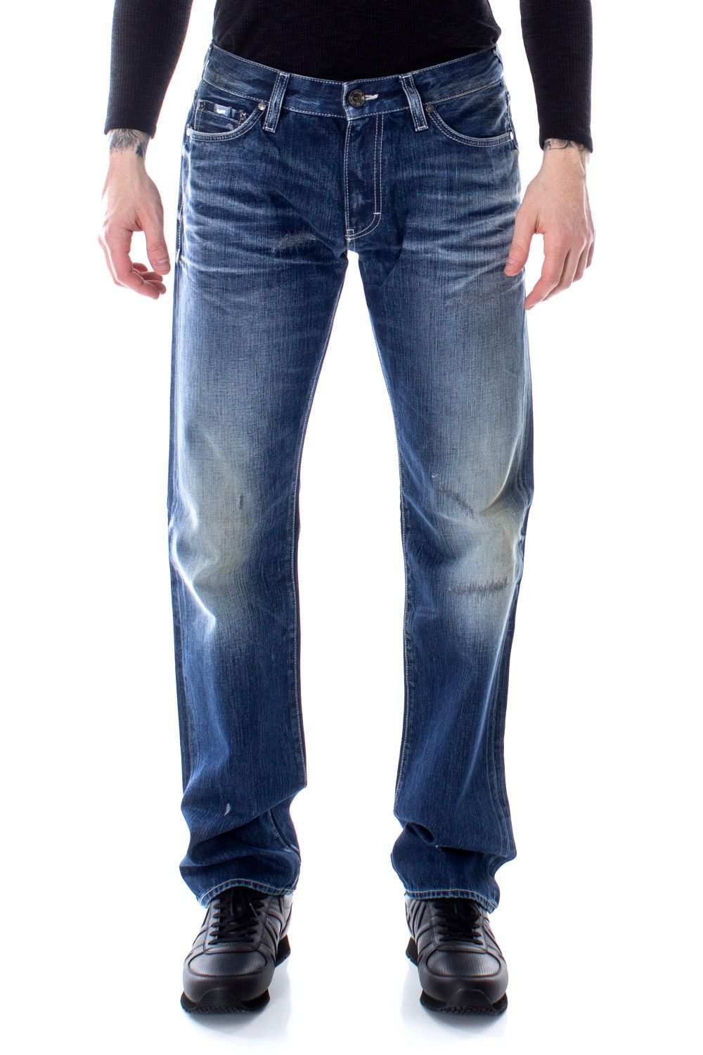 Gas Men's Jeans In Blue