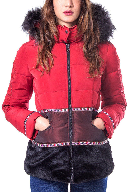 Desigual Women's Jacket In Red