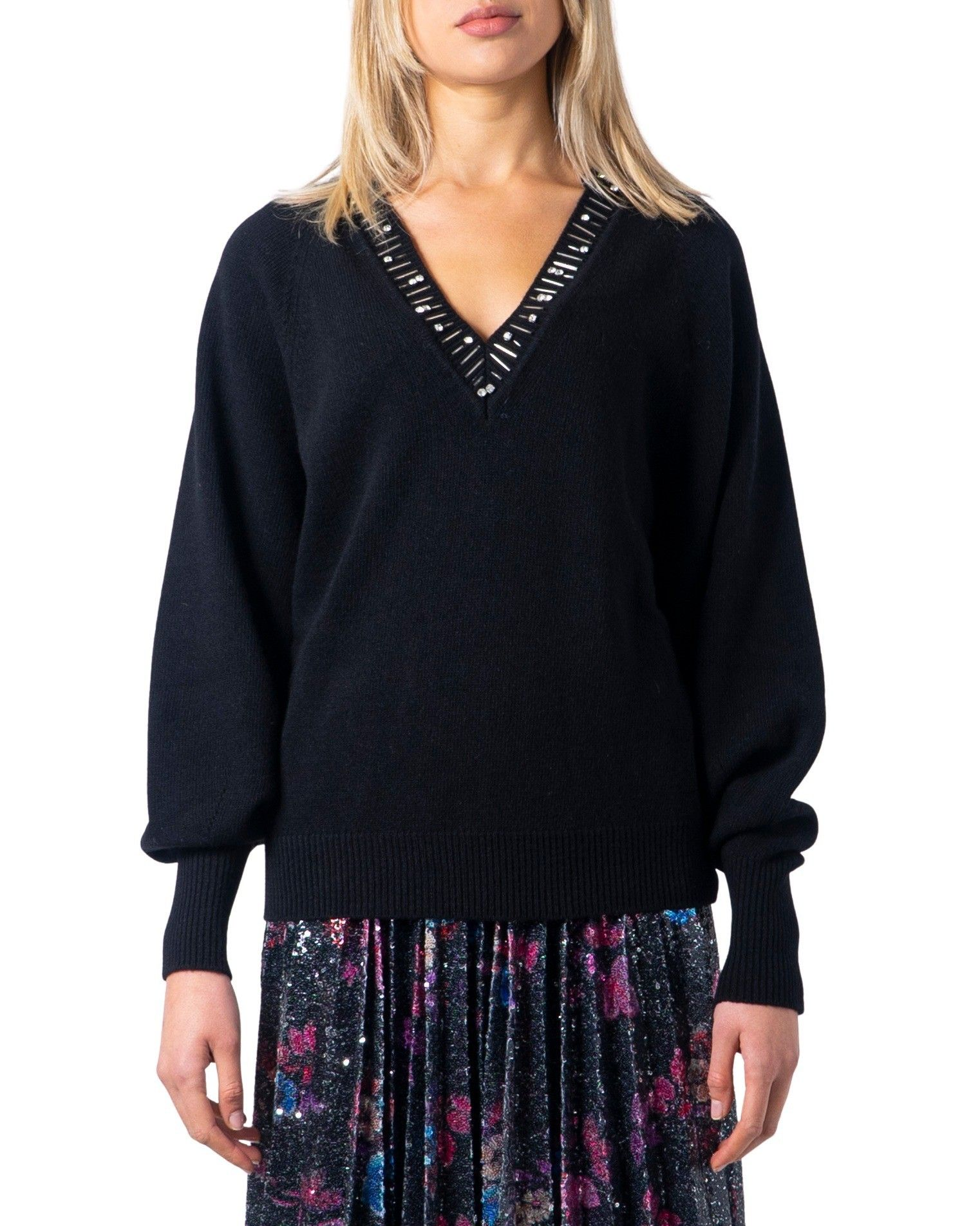 Pinko Women's Sweatshirt In Black