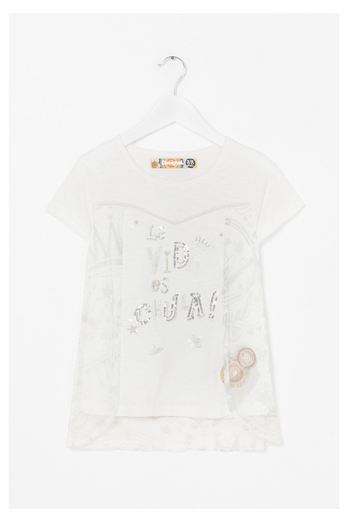 Desigual  T-Shirt In White