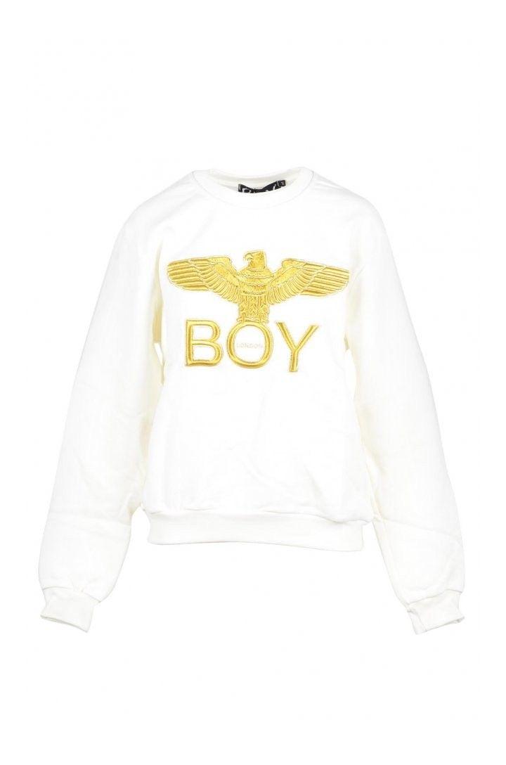 Boy London Women's Sweatshirt In White