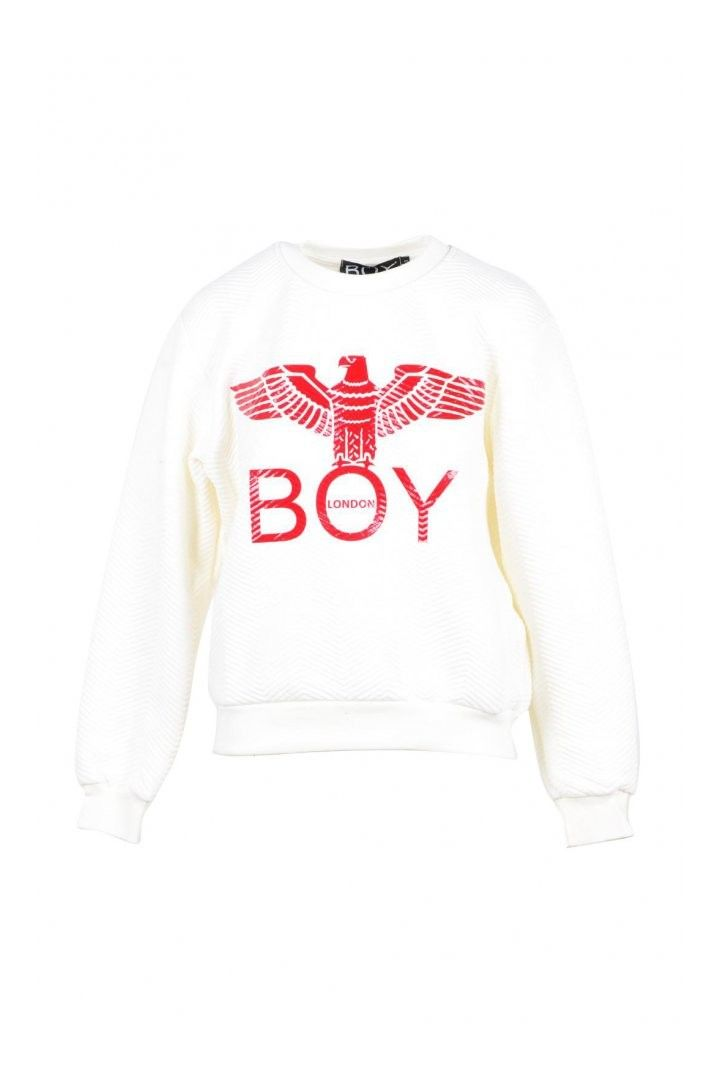 Boy London Women's Sweatshirt In White