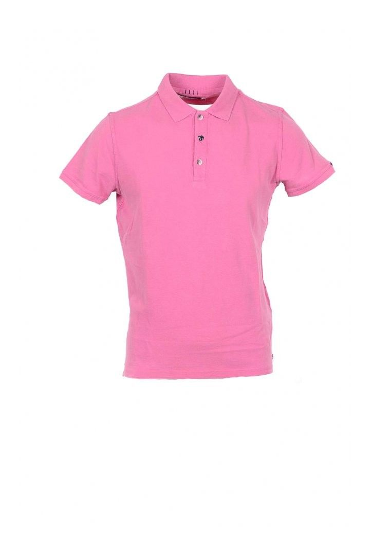 40 Weft Men's Polo In Pink