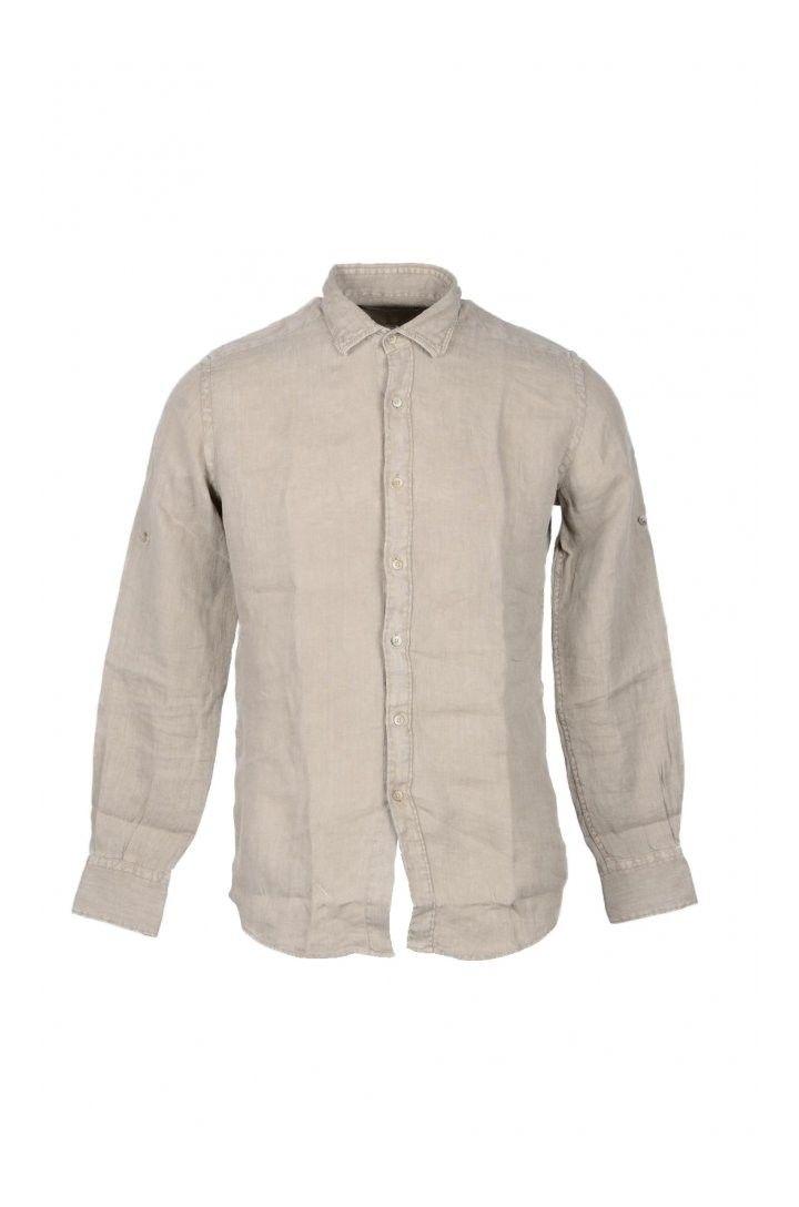 Takeshy Kurosawa Men's Shirt In Beige