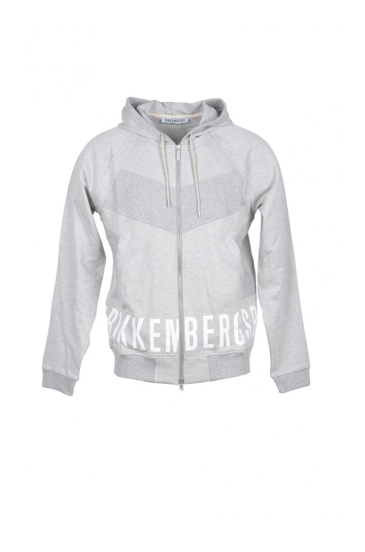 Bikkembergs Men's Sweatshirt In Grey