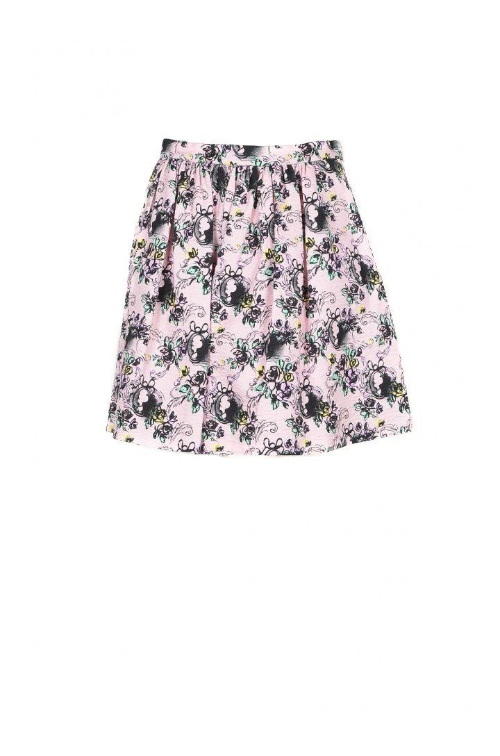 Boutique Moschino Women's Skirt In Pink