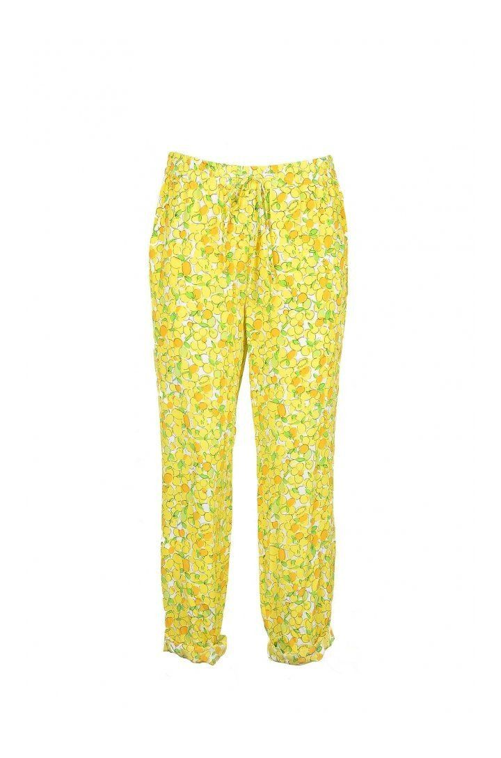 Boutique Moschino Women's Trousers In Yellow