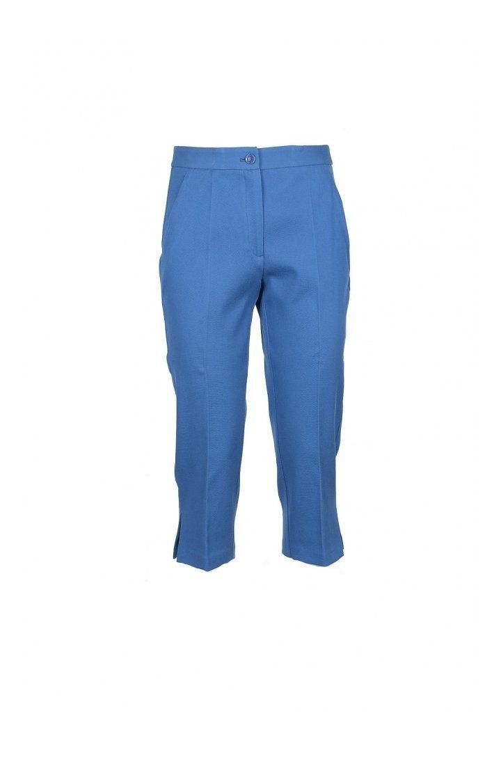 Boutique Moschino Women's Trousers In Blue
