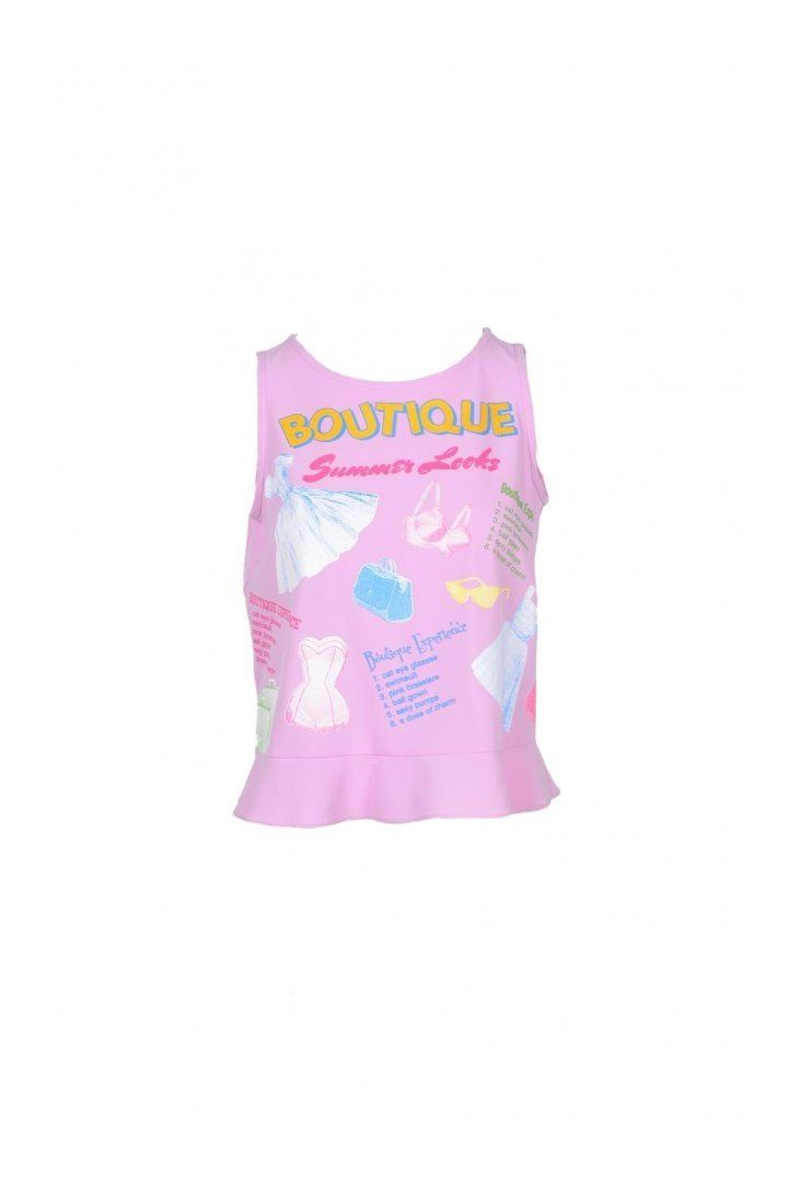 Boutique Moschino Women's Top In Pink