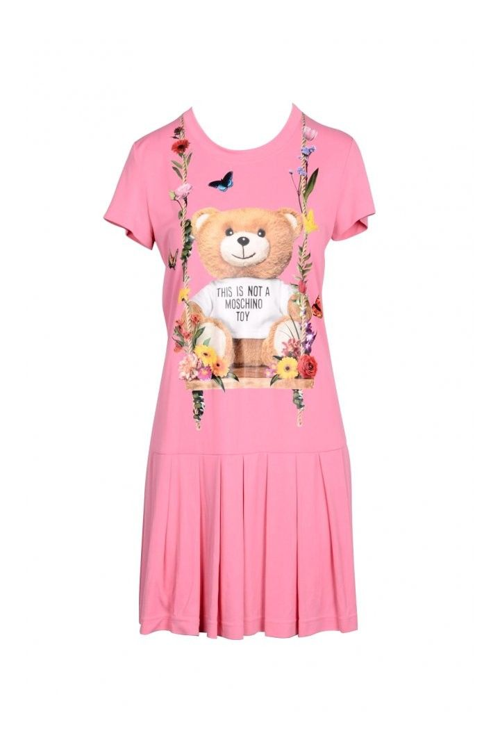 Moschino Couture Women's Dress In Pink