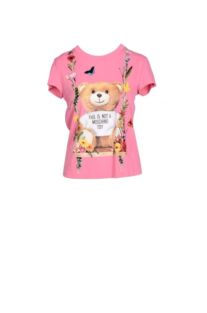 Moschino Couture Women's T-Shirt In Pink