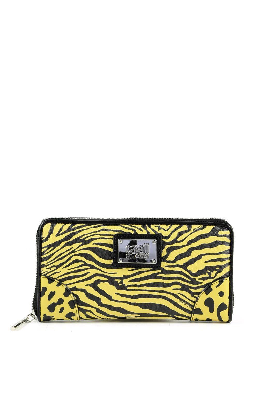 Cavalli Class Women's Wallet In Yellow