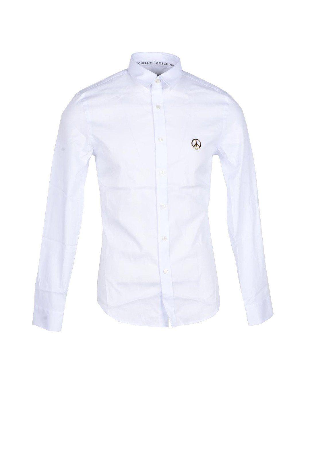 Love Moschino Men's Shirt In White