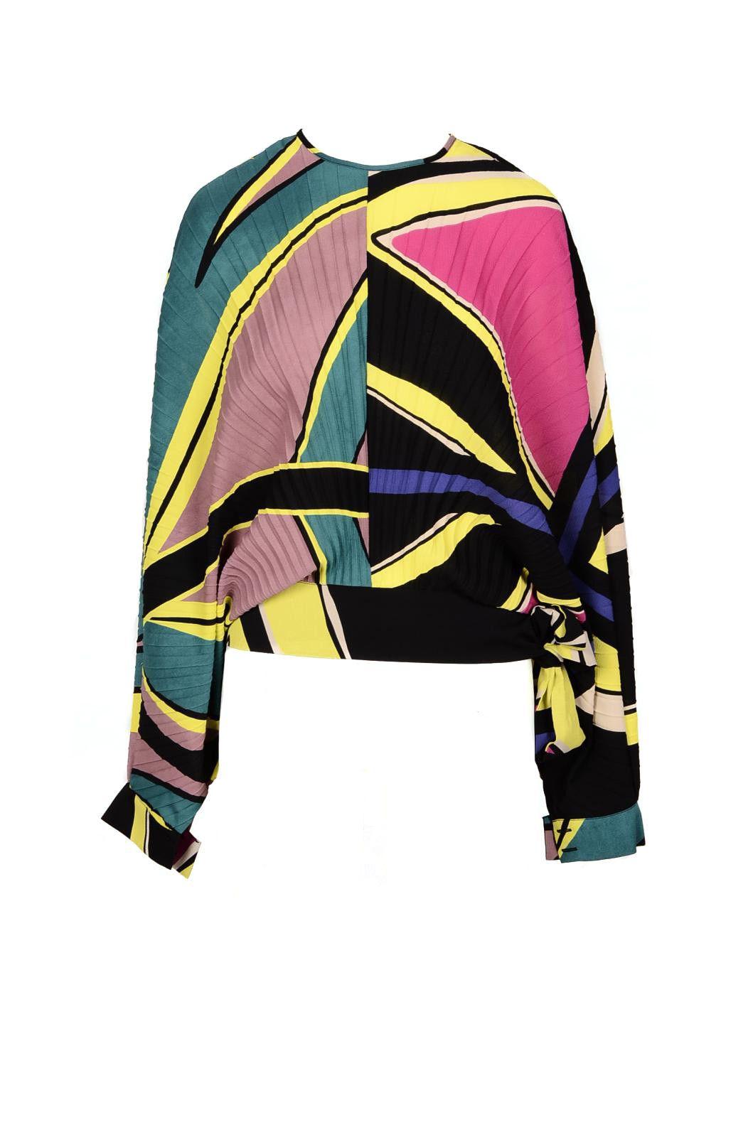 Manila Grace Women's Shirt In Multicolor