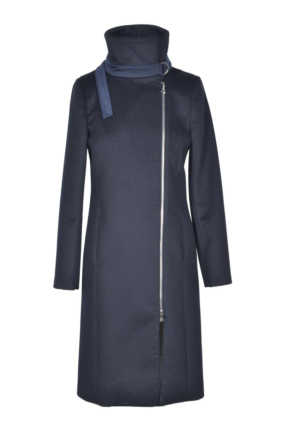 Patrizia Pepe Women's Coat In Blue