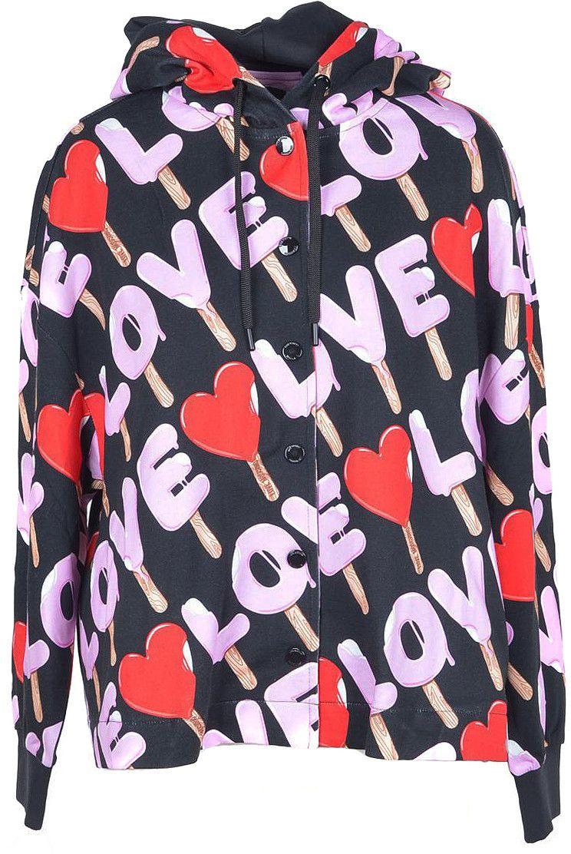Love Moschino Women's Sweatshirt In Black
