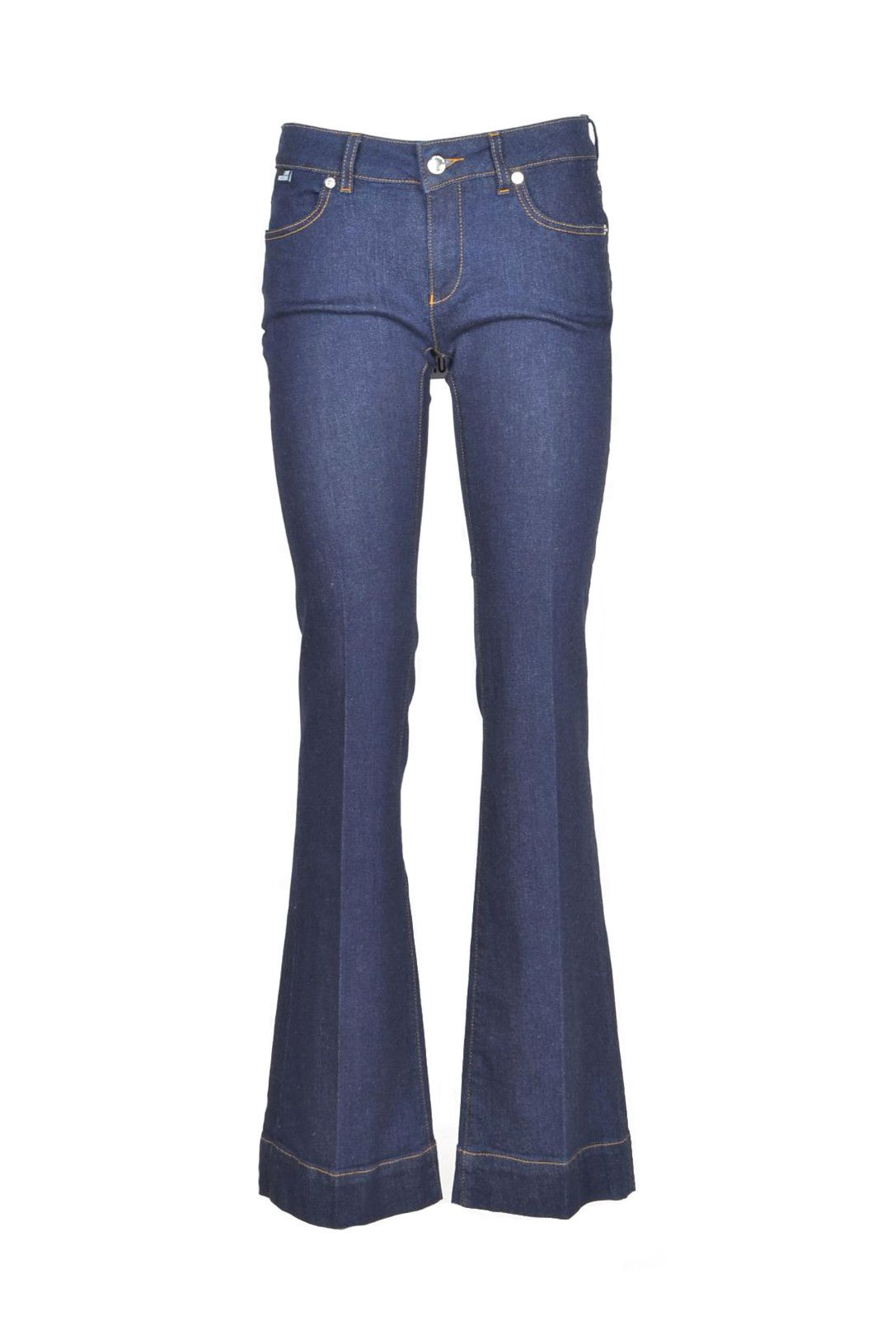 Love Moschino Women's Jeans In Blue