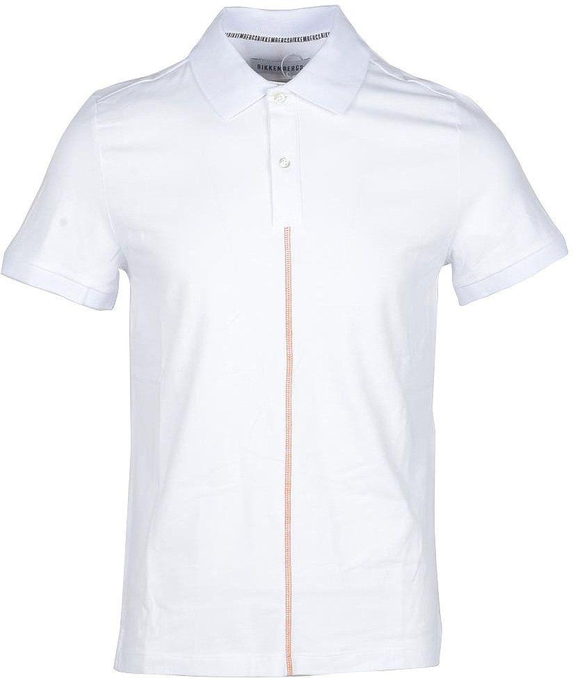 Bikkembergs Men's Polo In White