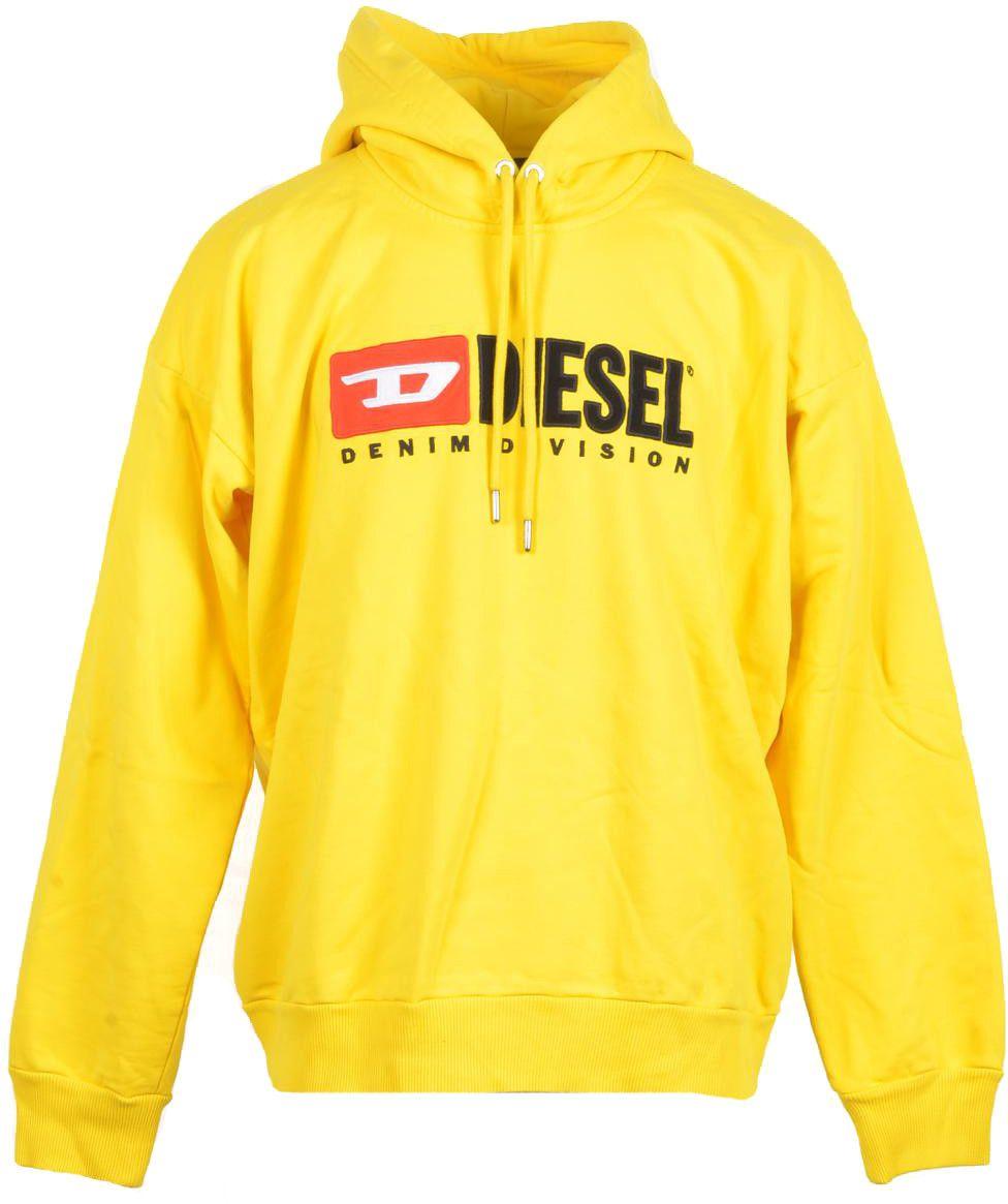 Diesel Men's Sweatshirt In Yellow