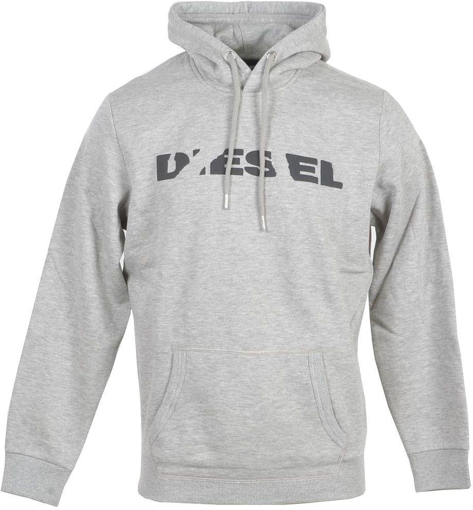 Diesel Men's Sweatshirt In Grey