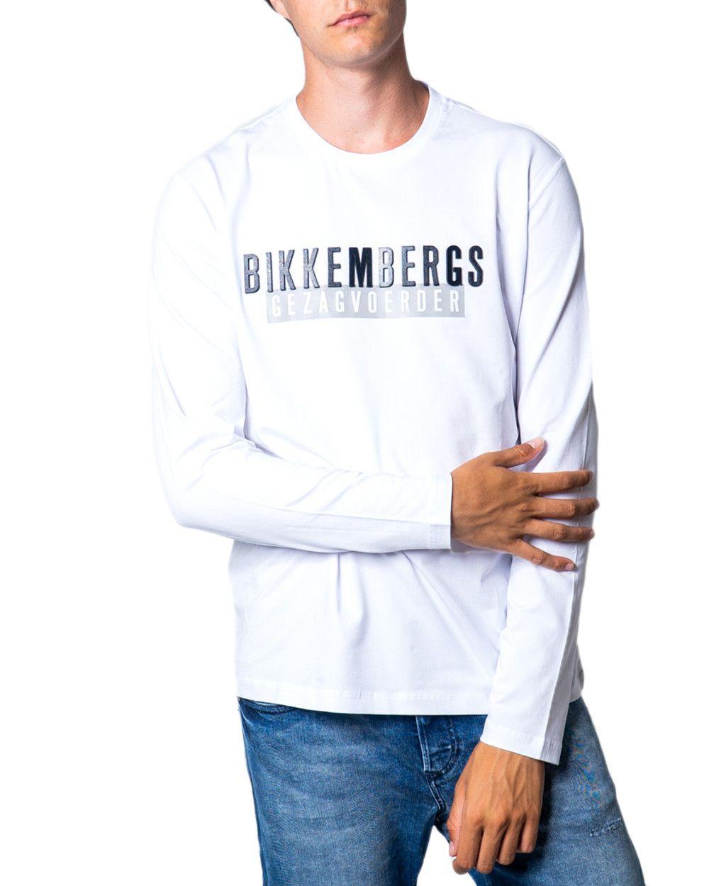 Bikkembergs Men's T-Shirt In White
