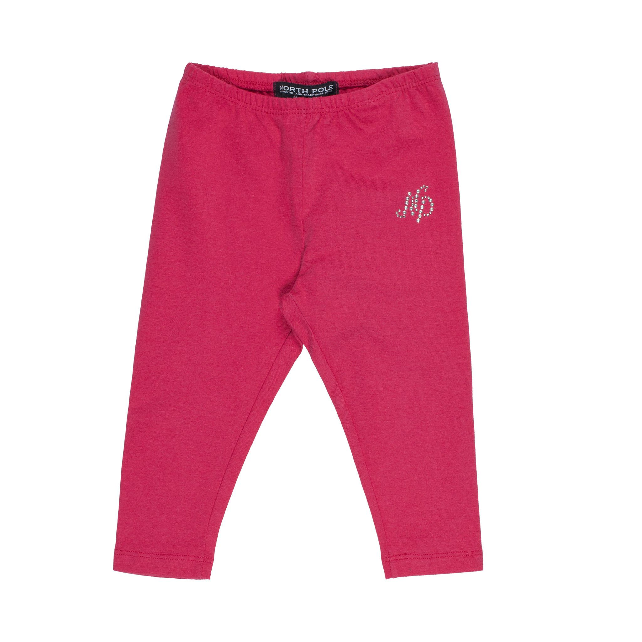 North Pole  Leggings In Pink