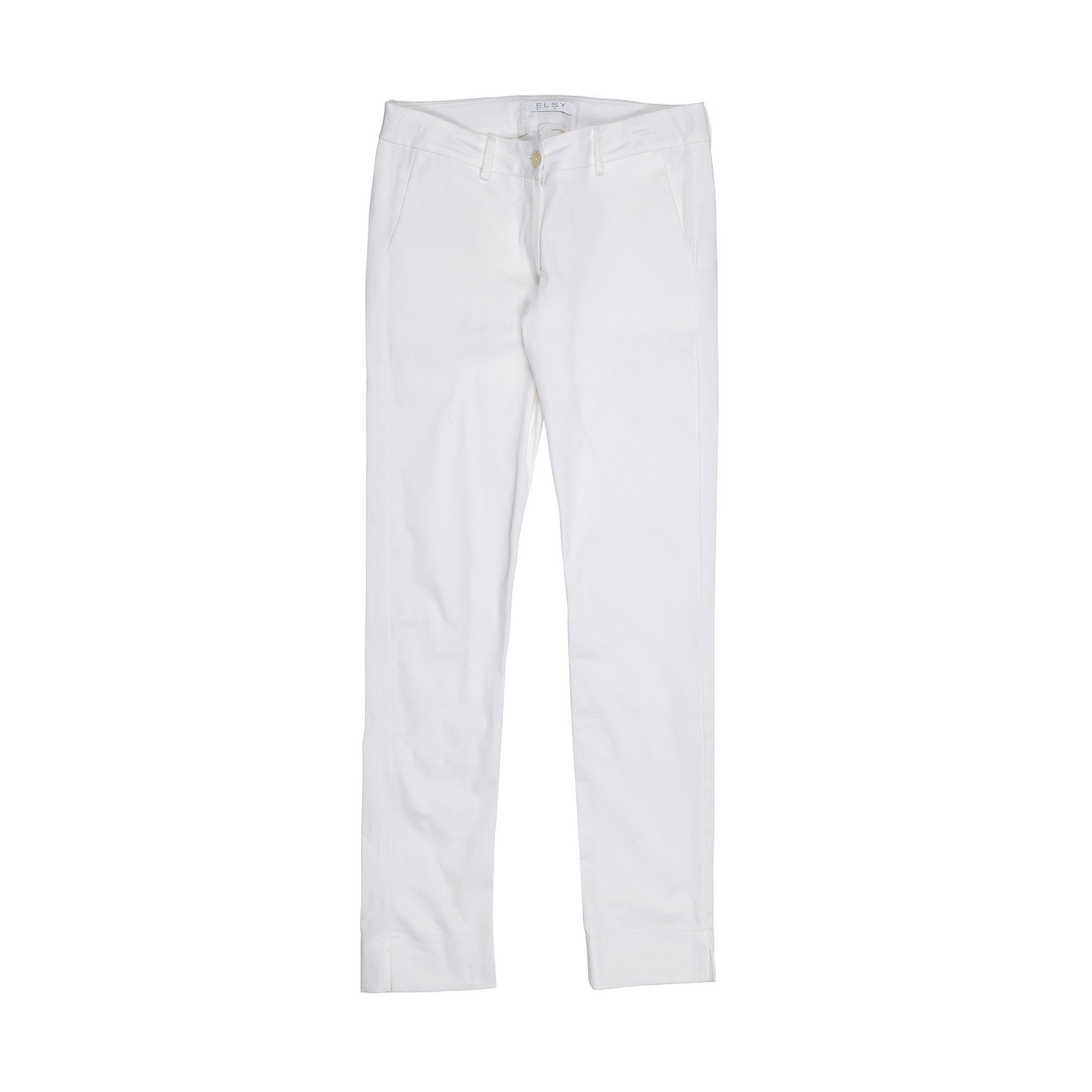 Elsy  Trousers In White