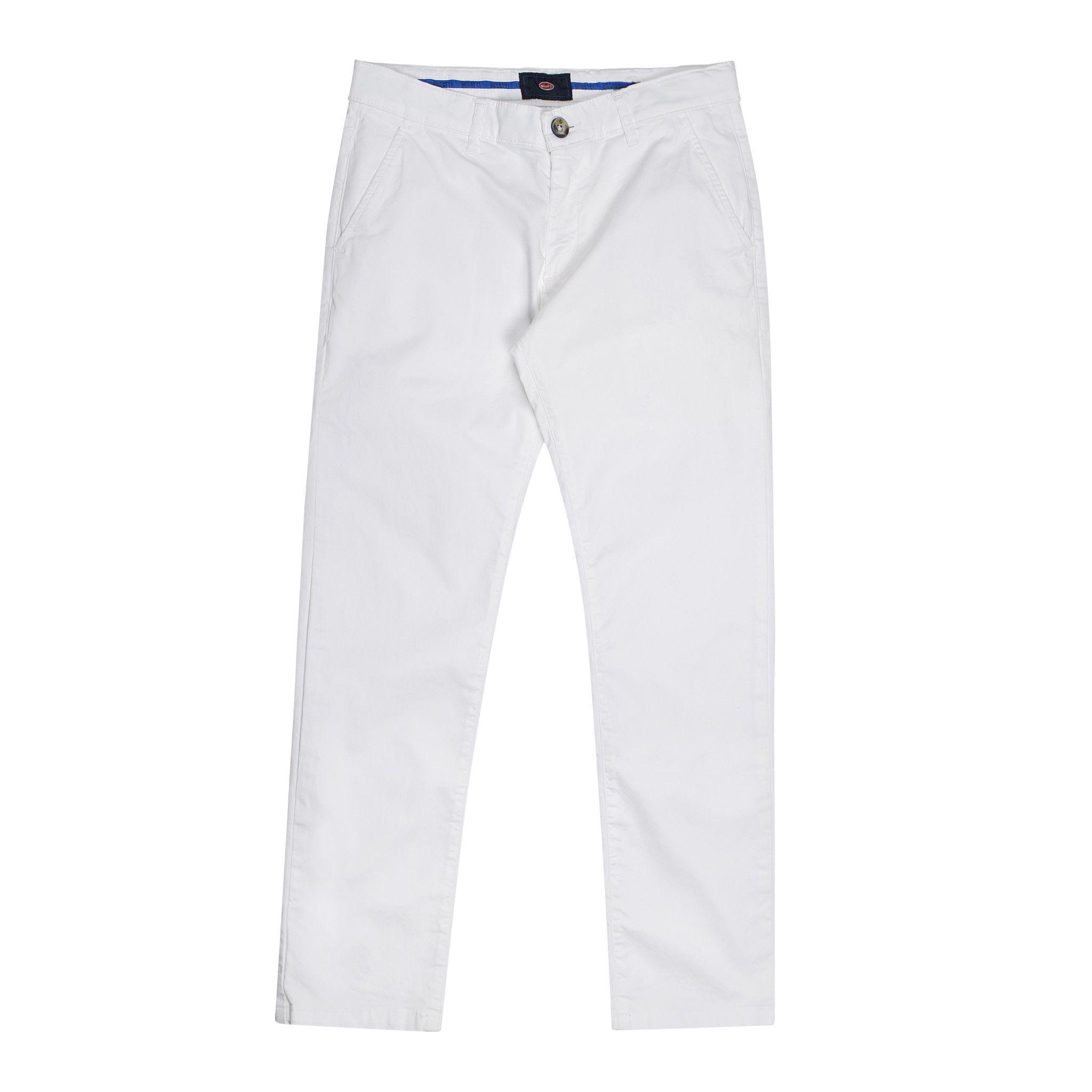 Bugatti  Trousers In White