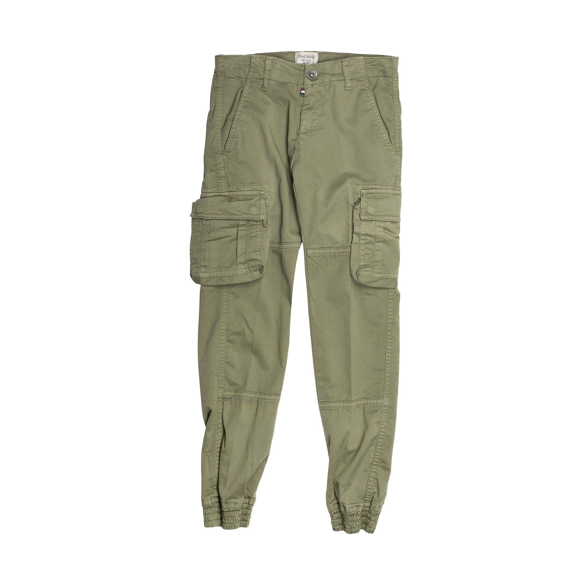 Fred Mello  Trousers In Green