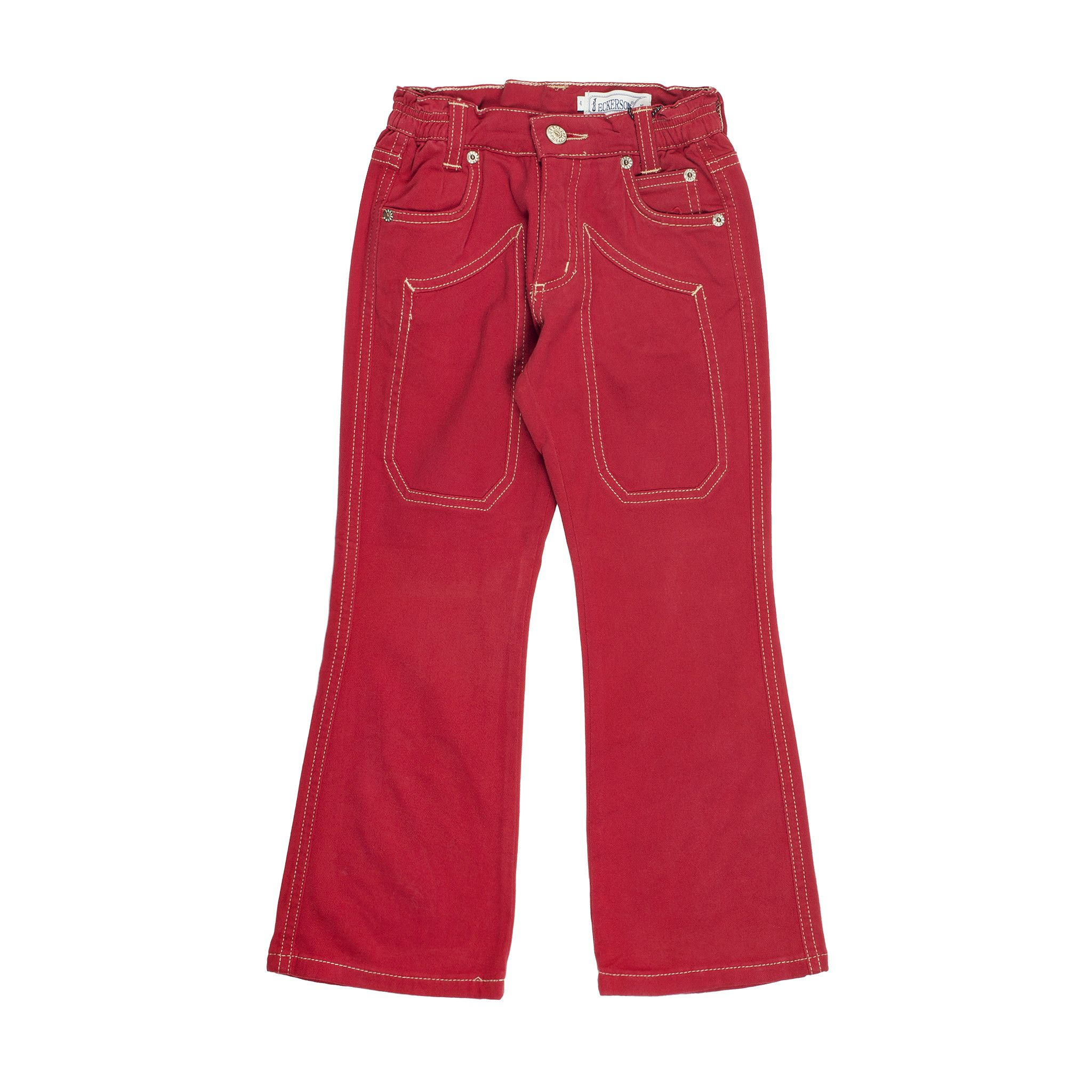 Jeckerson  Trousers In Red