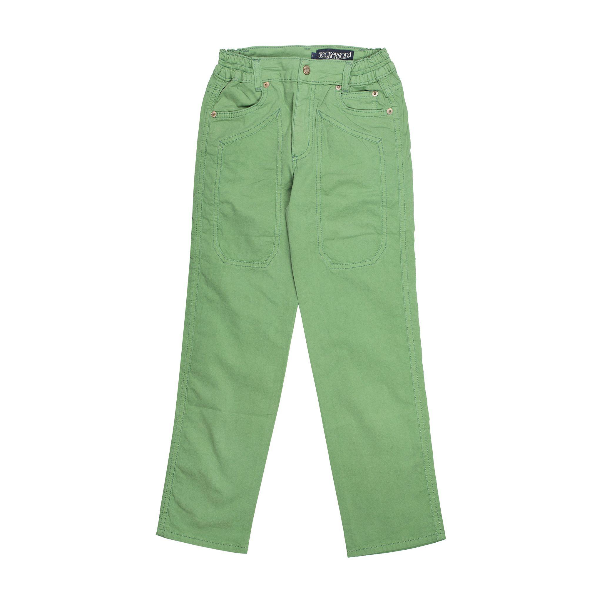 Jeckerson  Trousers In Green