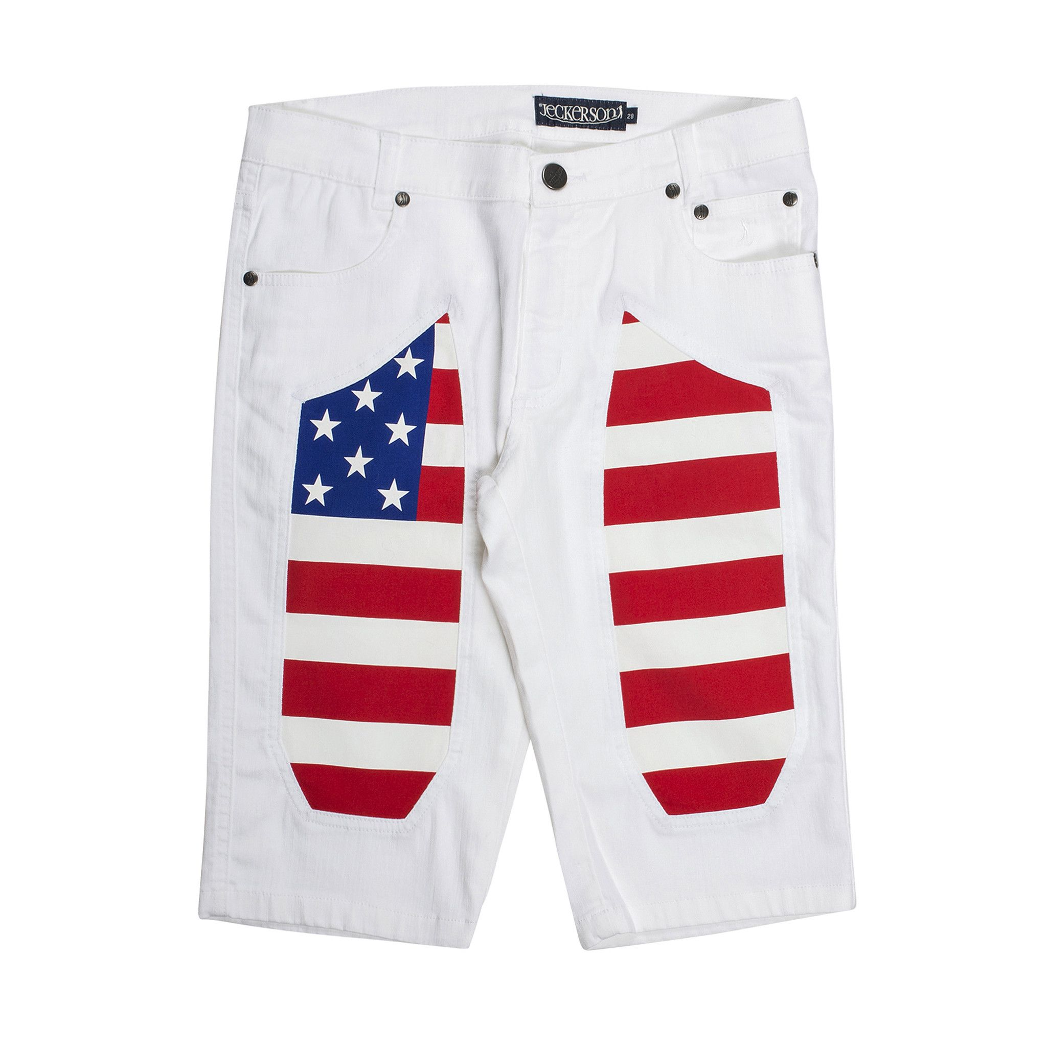 Jeckerson  Shorts In White
