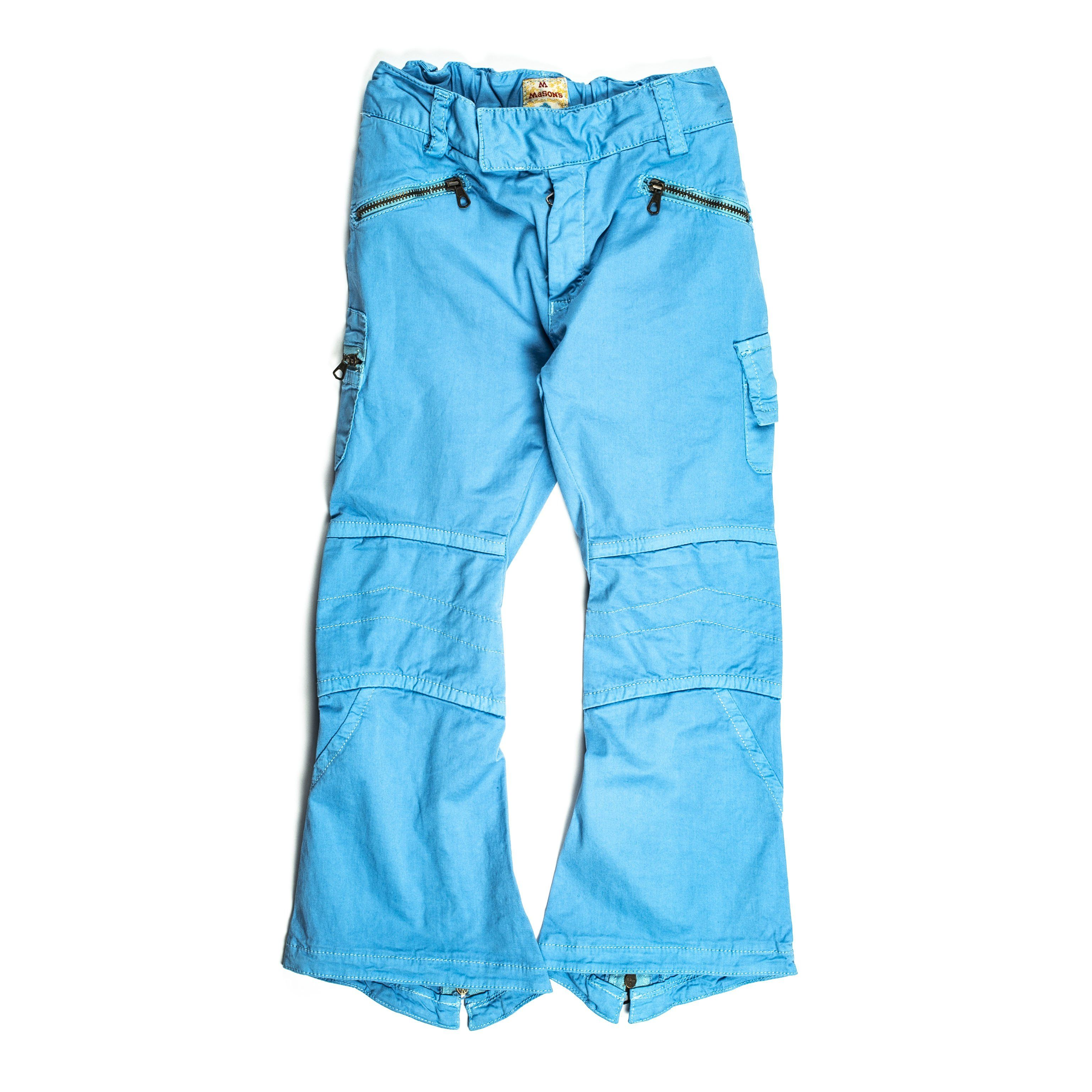 Mason`S  Trousers In Light Blue
