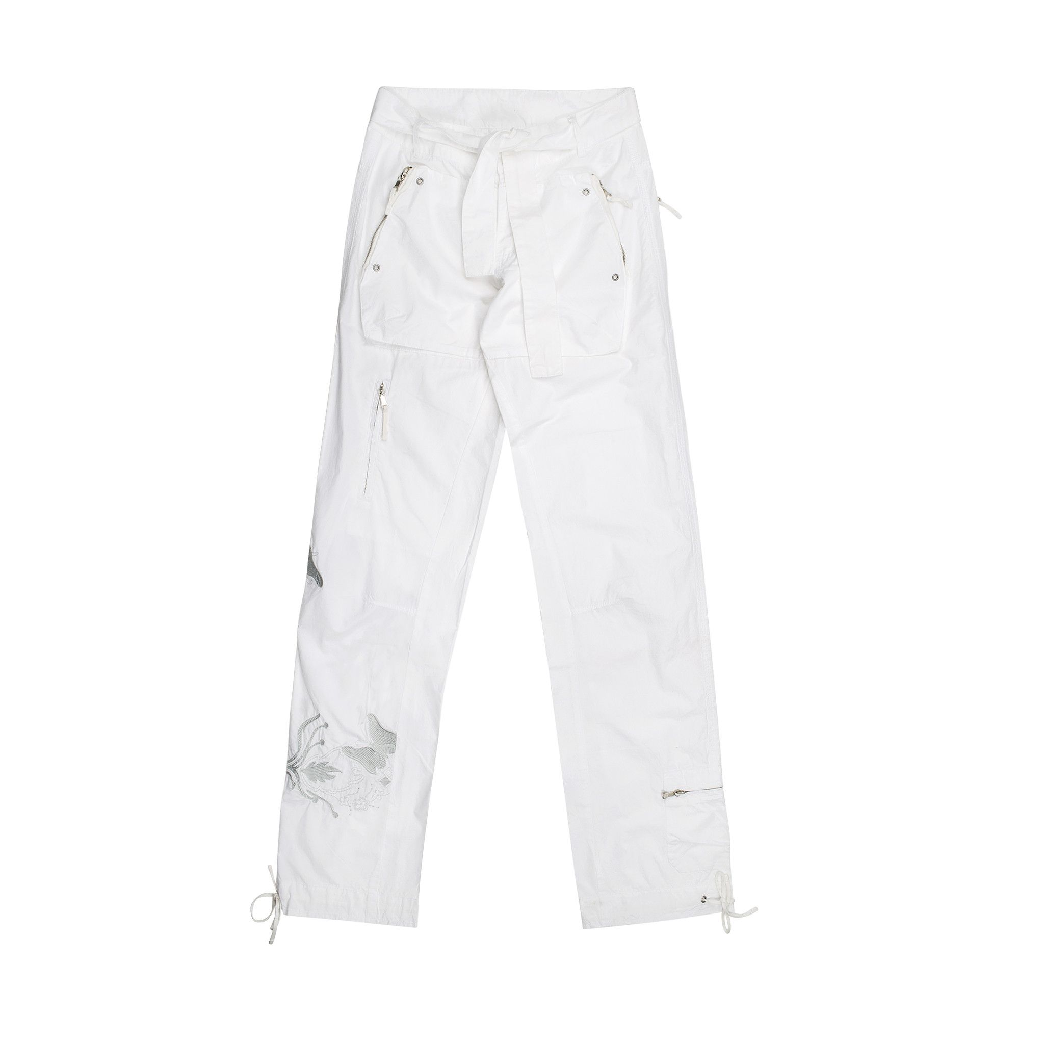 Replay & Sons  Trousers In White
