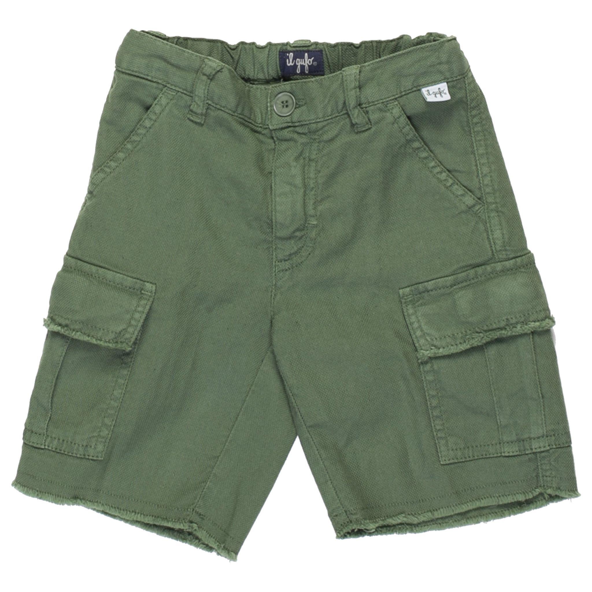 Il Gufo  Shorts In Green